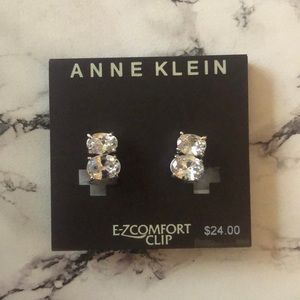 Anne Klein clip on earrings